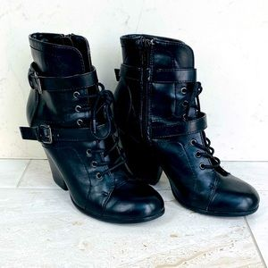Call It Spring Laced Boots with Heels
